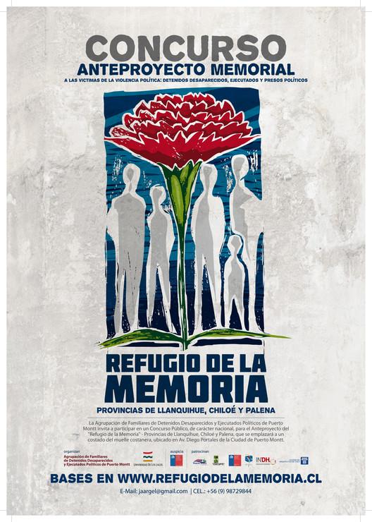 """Convocatoria Concurso """"Refugio de la memoria"""" / Puerto Montt, Chile, Cortesía de la organización"""
