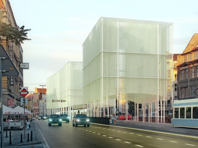 Proposta Vencedora Cruzamento Subterrâneo Świdnicka / Major Architekci, Cortesia de Major Architekci