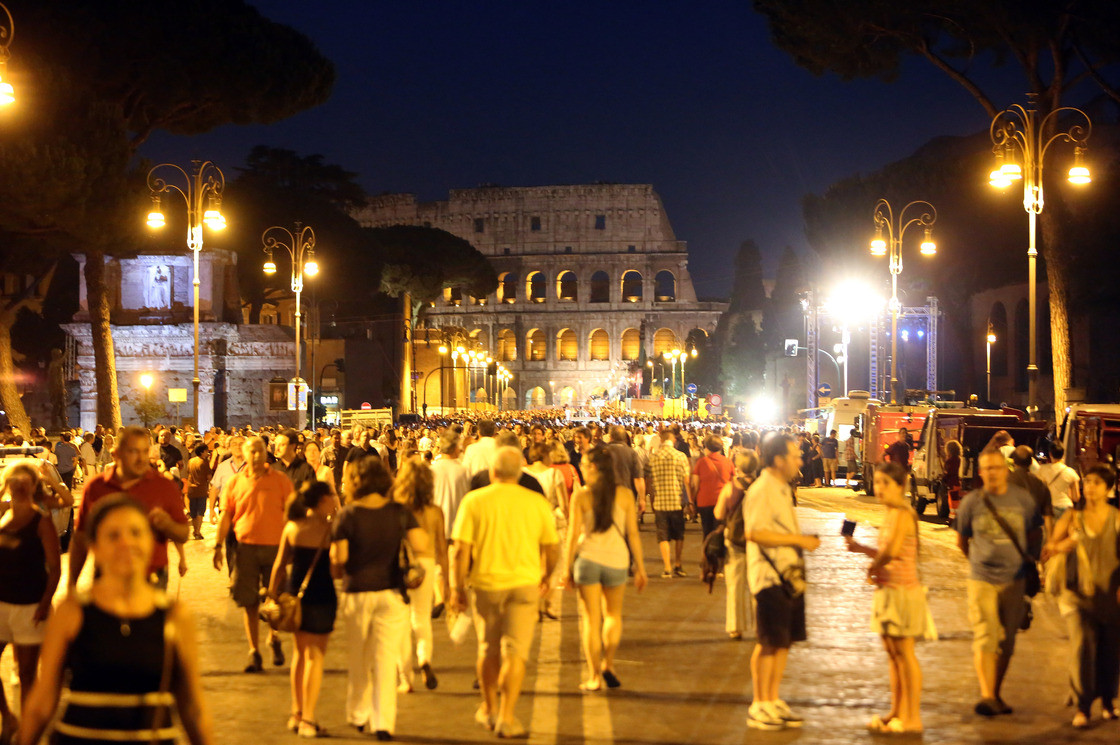 Rome's New Mayor Seeks to Pedestrianize The Monuments , © Franco Origlia/Getty Images via NPR