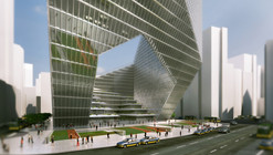 Mixed Use Tower Winning Proposal / DOS Architects