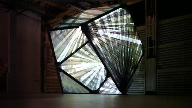 P-A-T-T-E-R-N-S' Latest Expressive, Experimental Pavilion: Textile Room