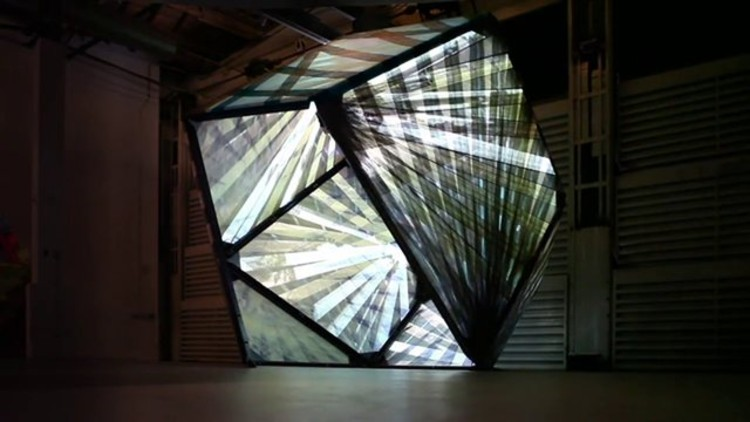 Pavilhão Experimental de P-A-T-T-E-R-N-S: Espaço Têxtil