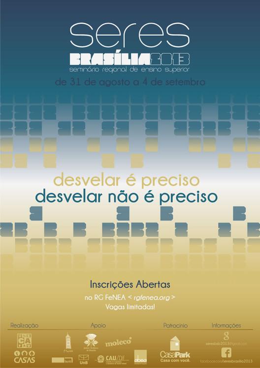 SeRES Brasília 2013, Cartaz de Divulgação
