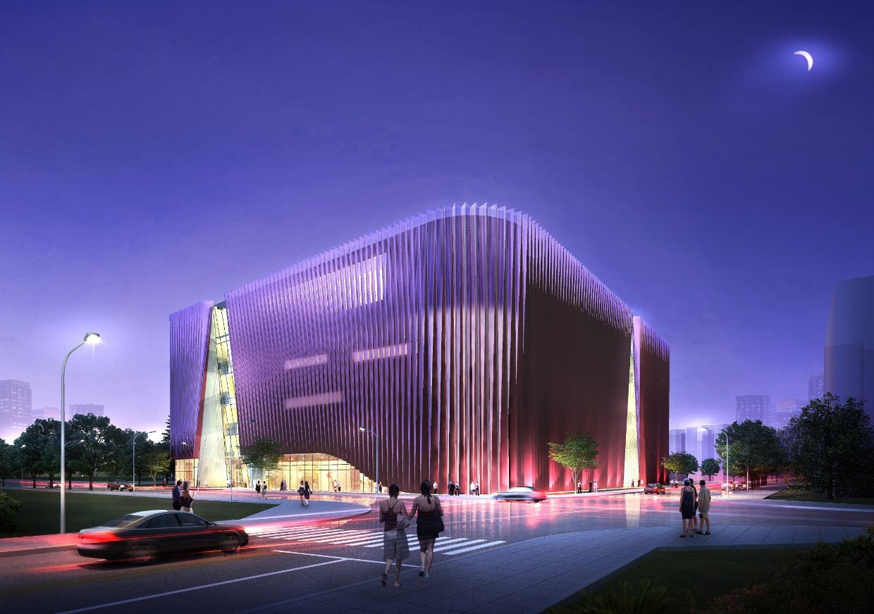Southwest international ethnic culture and art center for Architecture and design