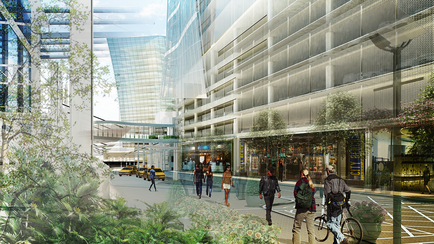 Gallery of stamford transportation center winning proposal for Studio v architecture