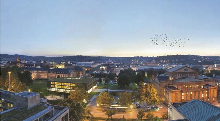 Proposta Vencedora para o Centro de Mídia para o Cidadão/ Henning Larsen Architects, Cortesia de Henning Larsen Architects