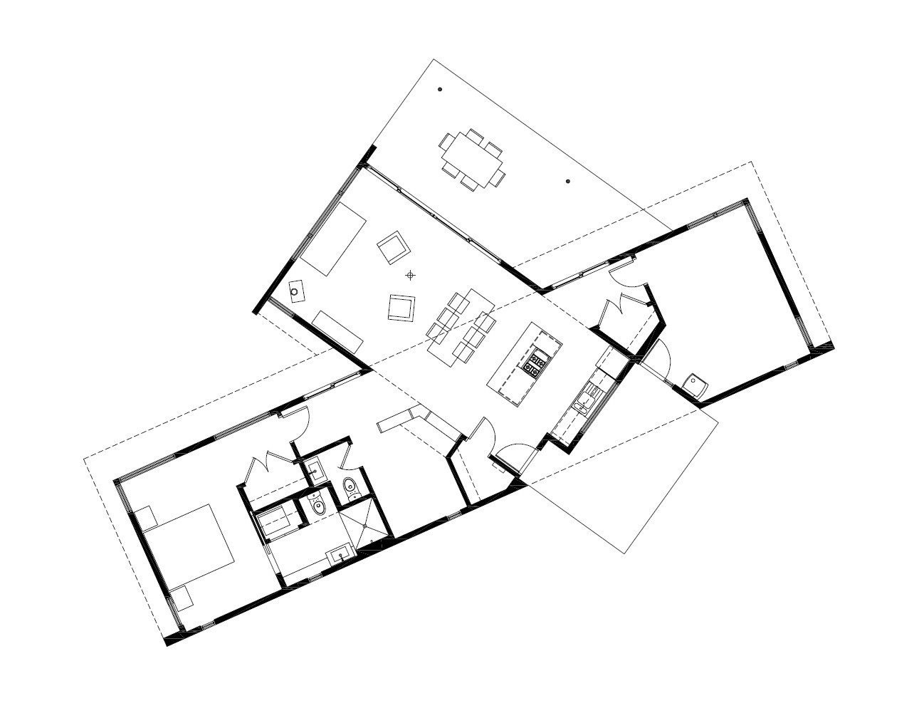 Gallery Of Ridge House Grid Architects 21