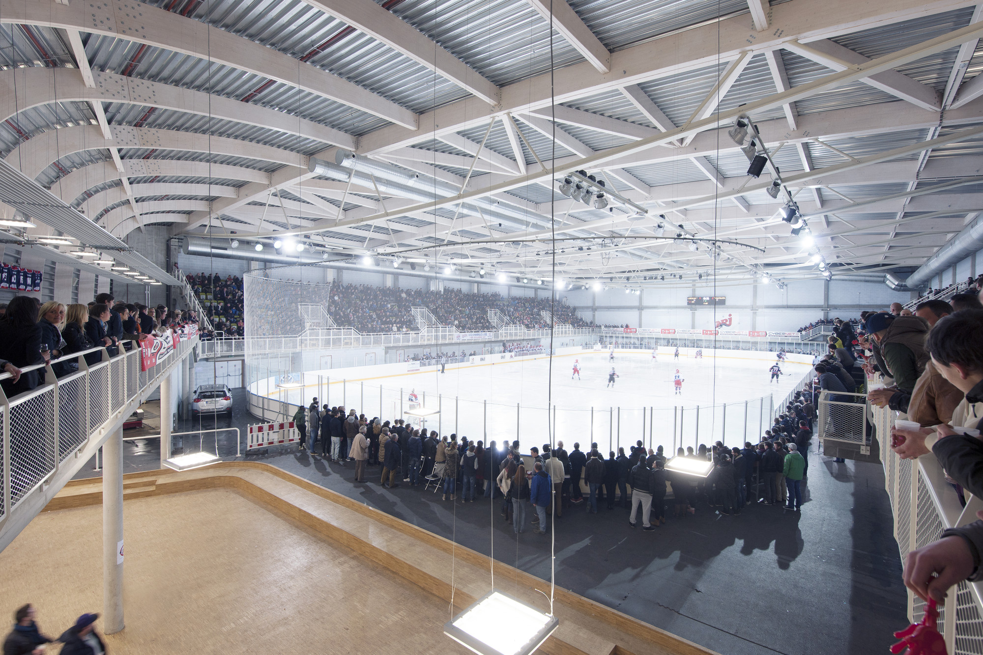 Ice Rink of Liège / L'Escaut Architectures + BE Weinand