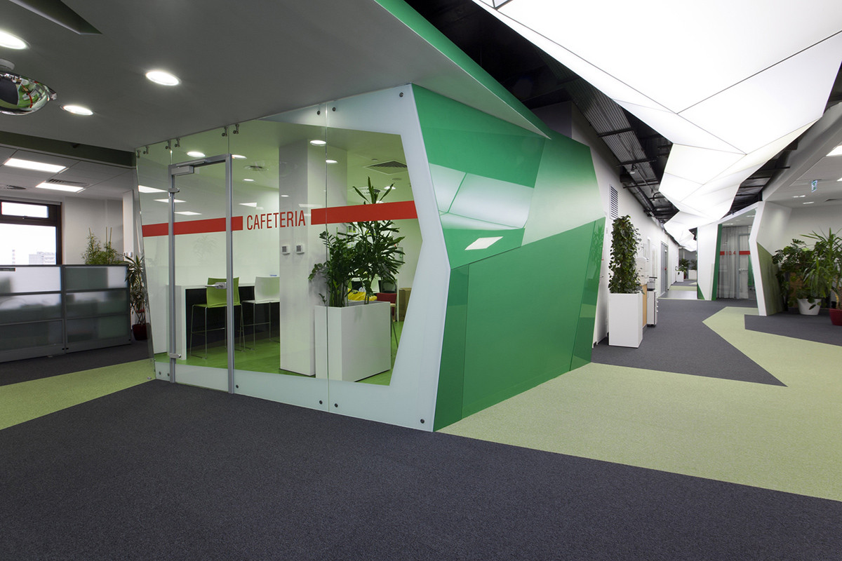 Attractive Castrol Office / Za Bor Architects. Save This Picture! © Peter Zaytsev Photo