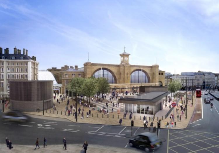 Dez ideias sustentáveis para transformar as cidades. Parte II, King's Cross Station como novo espaço público.