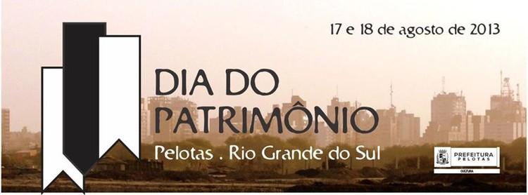 Dia do Patrimônio em Pelotas - RS