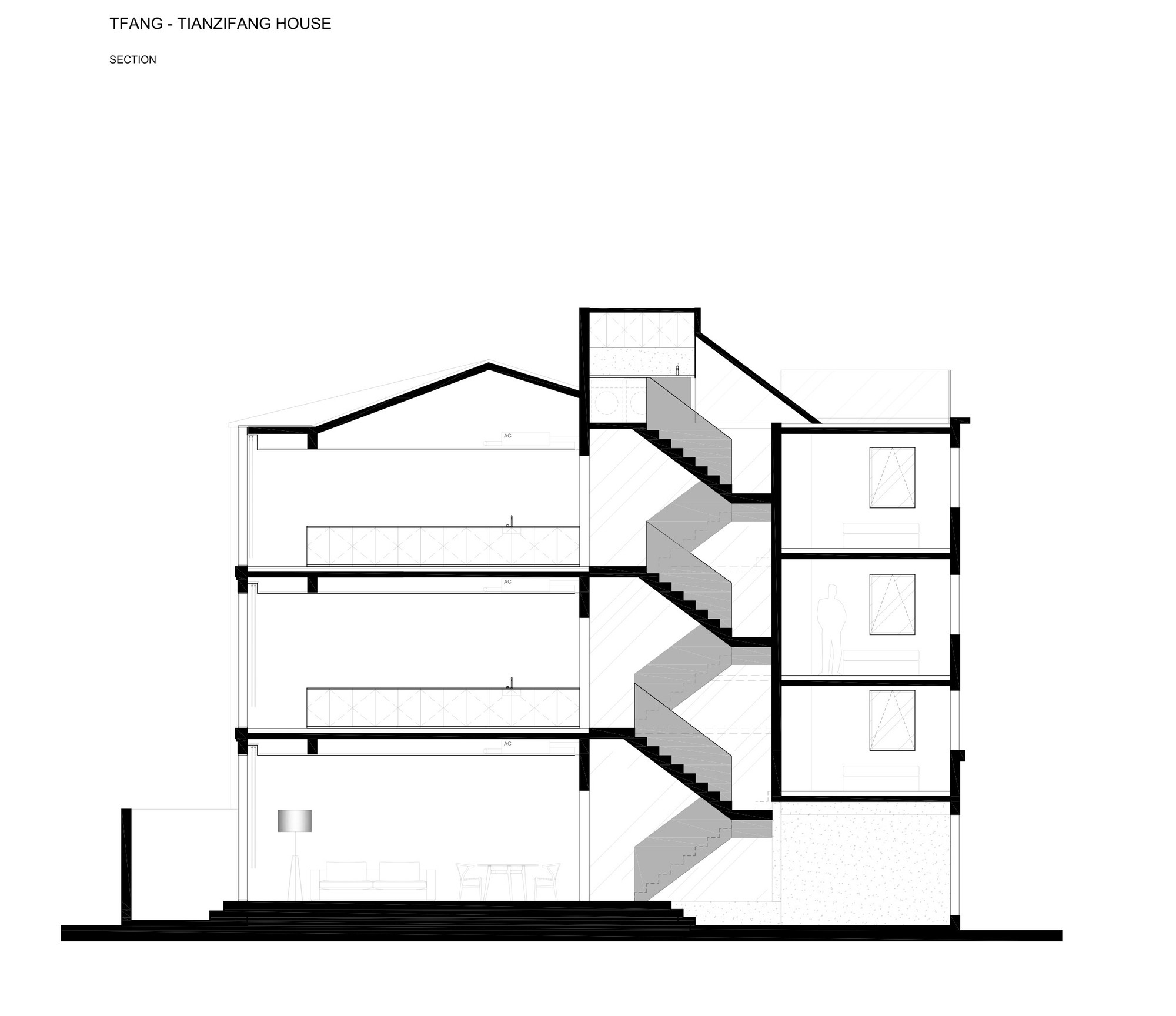 House design research - Rethinking The Split House Neri Hu Design And Research Office