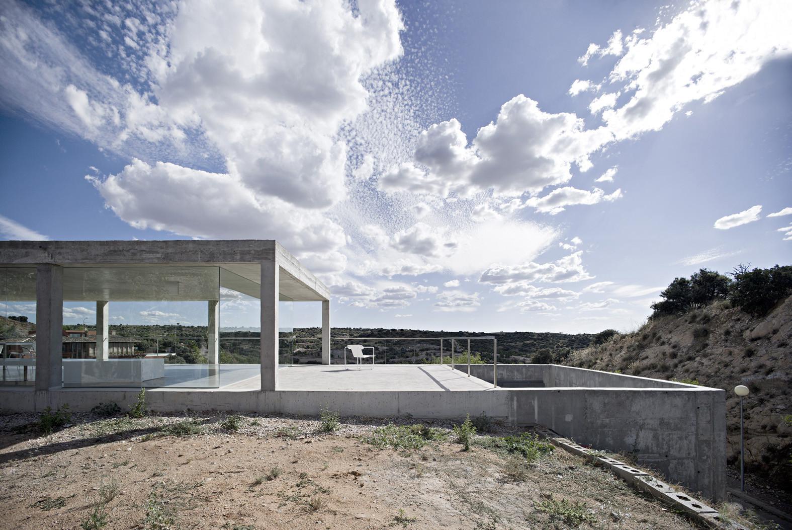 Rufo House / Alberto Campo Baeza, © Javier Callejas