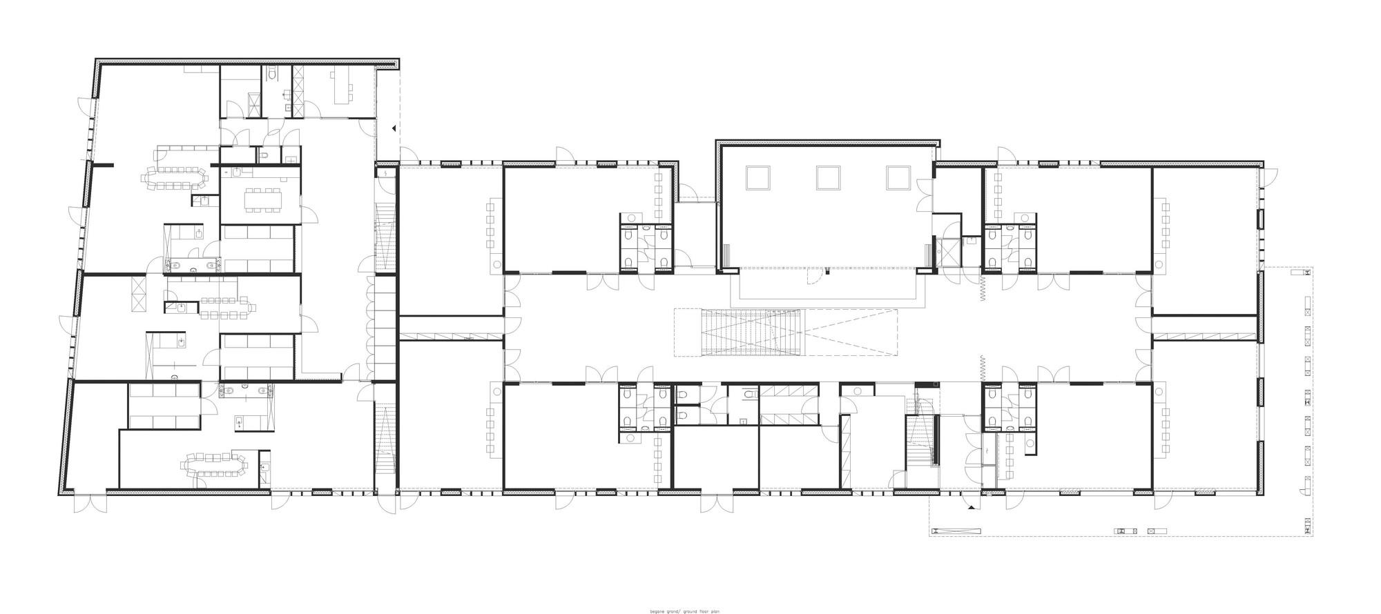 Floor Plan Classroom Galer 237 A De Escuela Primaria De Vuurvogel Grosfeld Van