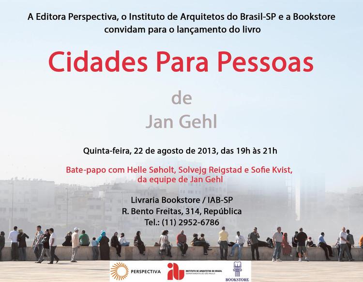 """Lançamento do livro """"Cidades para Pessoas"""" no IAB-SP, via IAB-SP"""