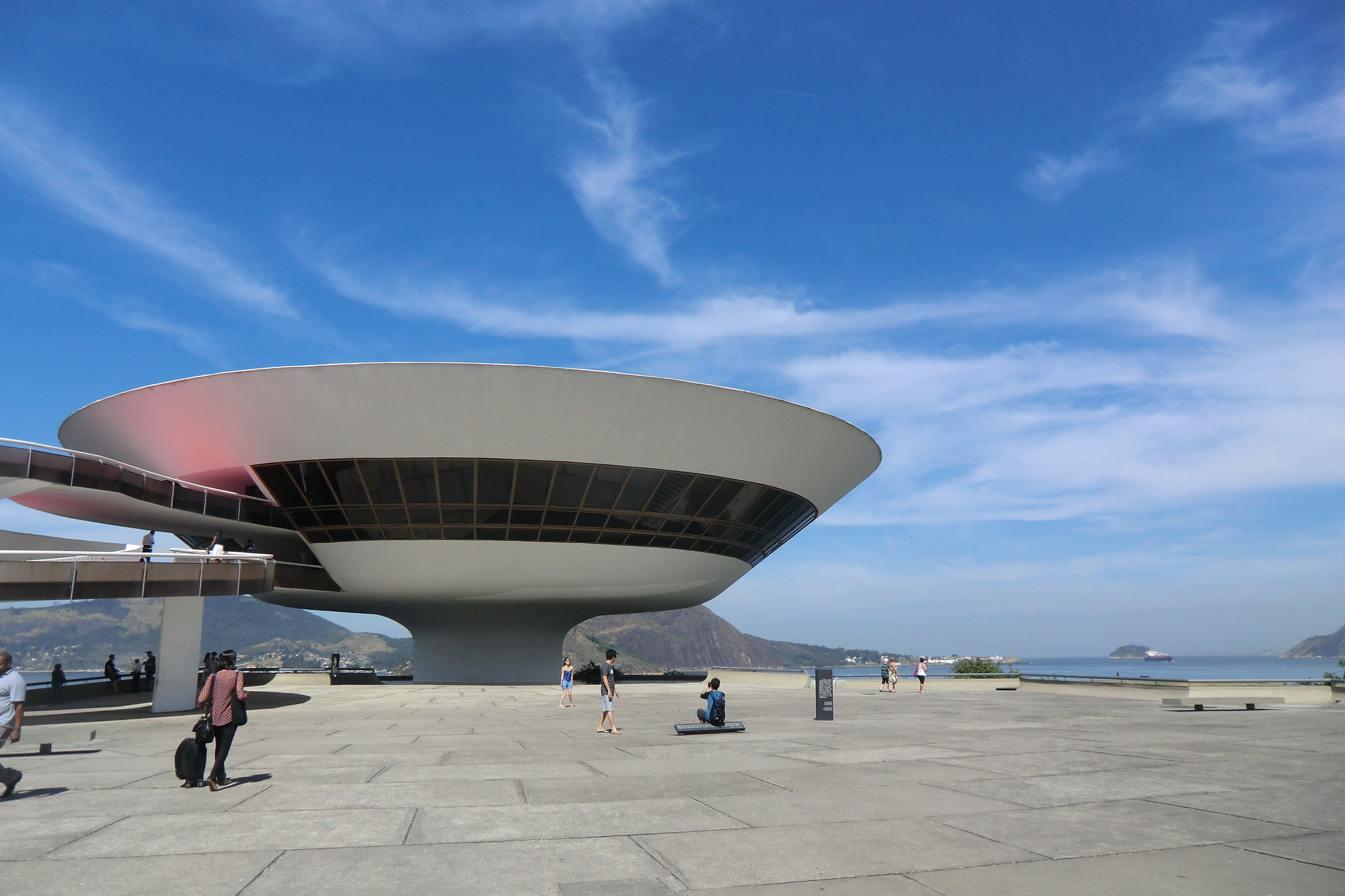 Ad Classics Niteroi Contemporary Art Museum Oscar Niemeyer