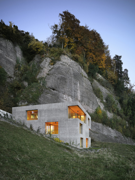 Holiday Home in Vitznau / alp Architektur Lischer Partner, © Roger Frei