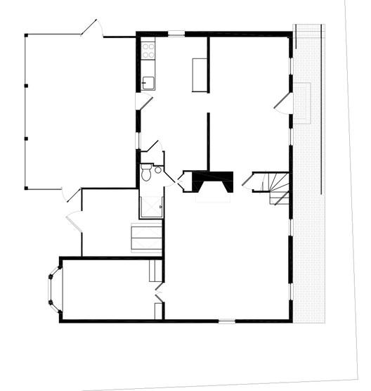 First Floor Plan (Before)