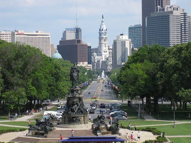 More Park, Less Way: Improving Philadelphia's Parkway, © elPadawan