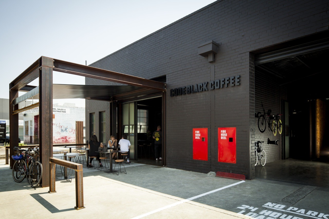 Code Black Coffee Zwei Interiors Architecture Archdaily