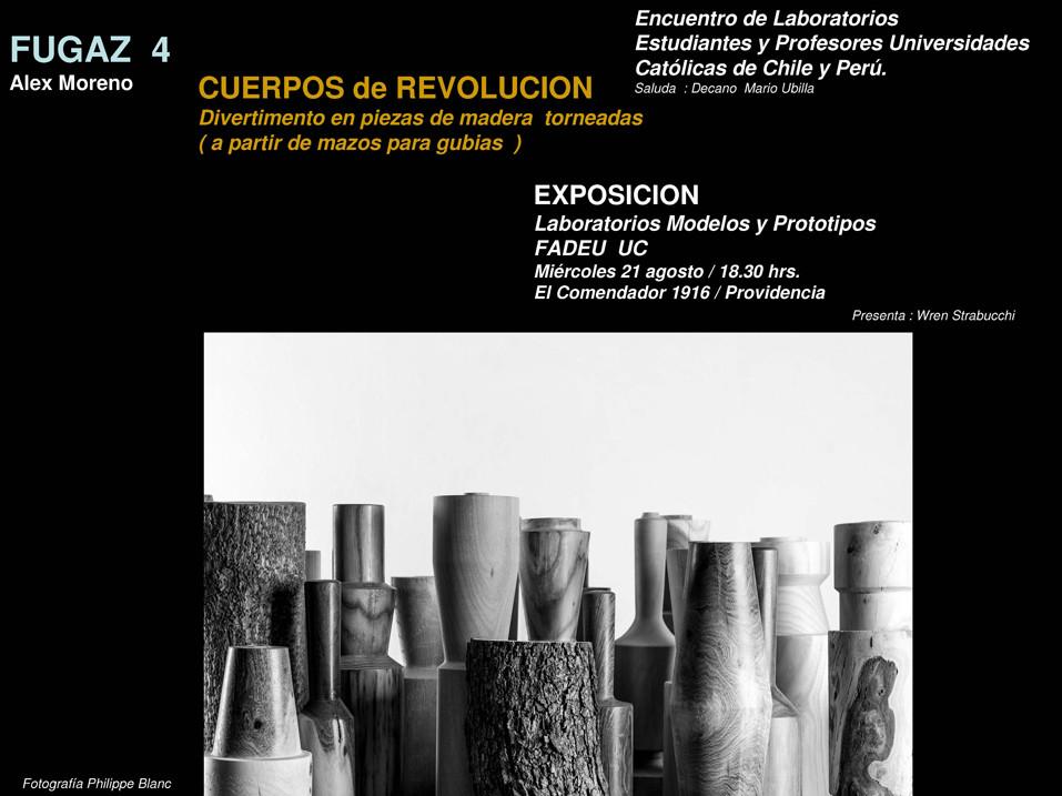 Exposición Fugaz 4: Cuerpos de Revolución