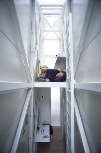 Jakub Szczesny's Keret House Open for Residence, © Polish Modern Art Foundation / Bartek Warzecha