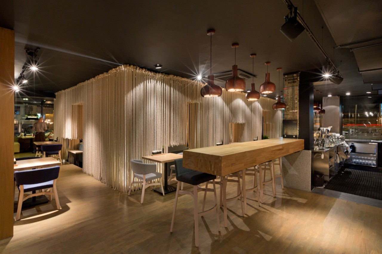 Gallery of restaurant odessa yod design lab 3 for Design hotel i restoran navis