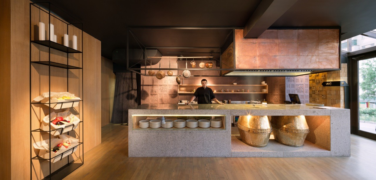 Gallery of restaurant quot odessa yod design lab
