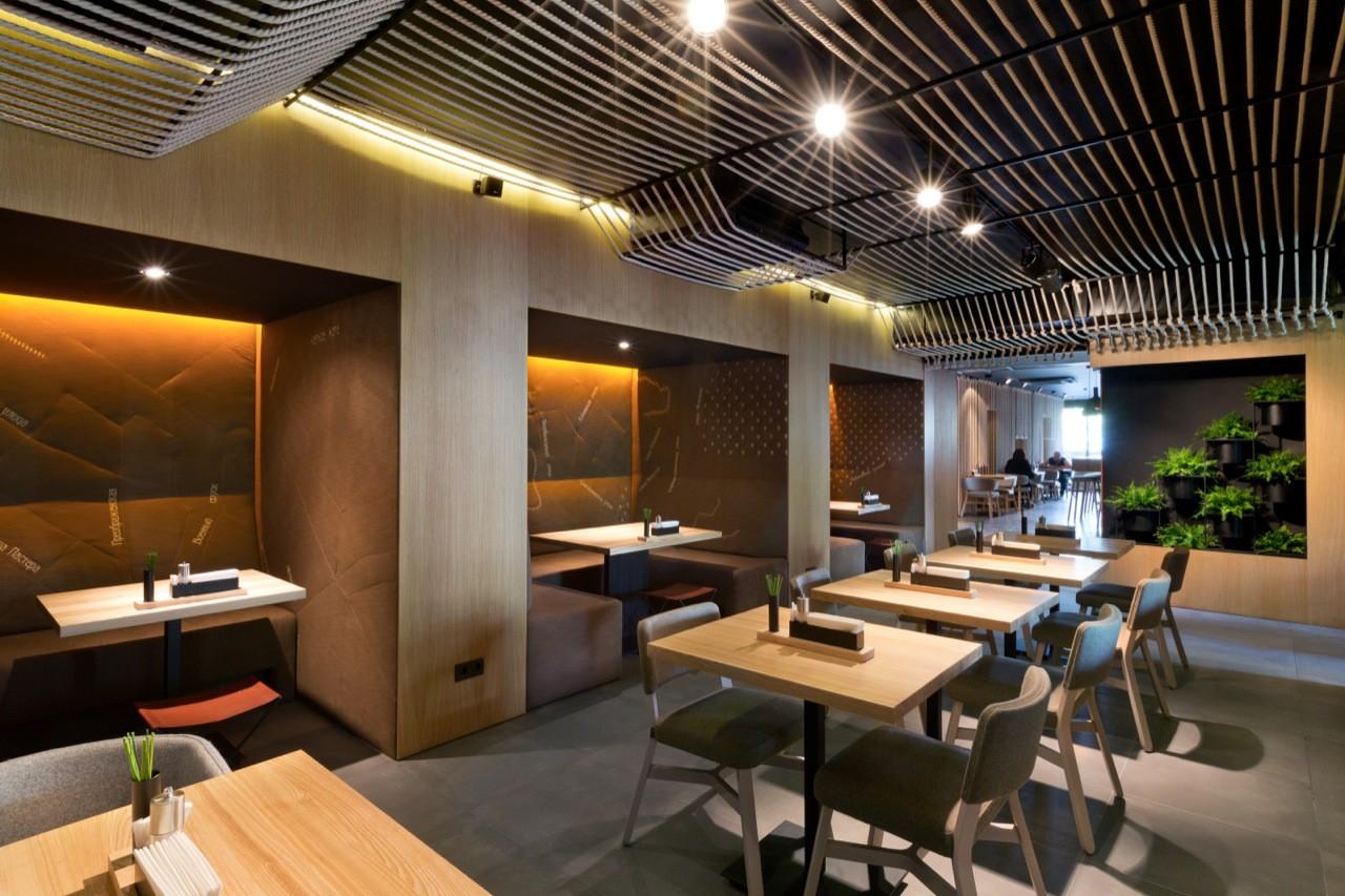 Gallery of restaurant odessa yod design lab 5 for Decoration interieur restaurant