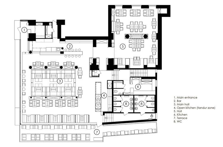 Restaurant Odessa Yod Design Lab Archdaily M 233 Xico