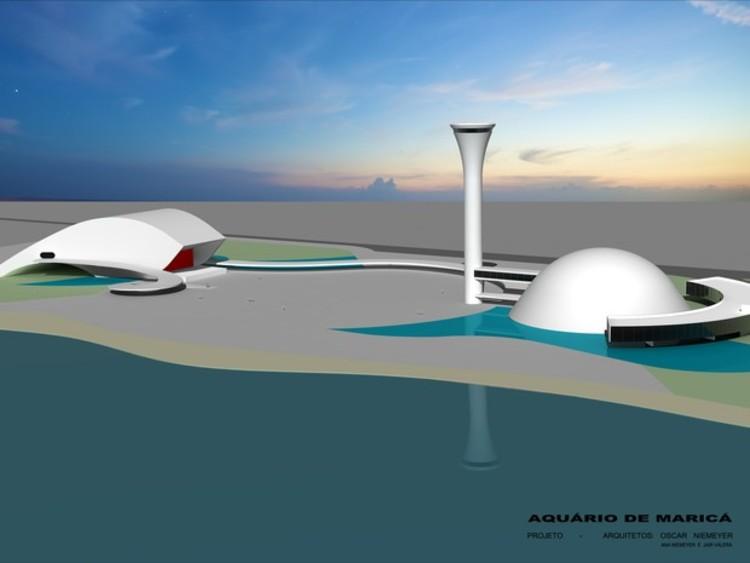 Aquário projetado por Oscar Niemeyer será construído em Maricá-RJ, Aquário de Maricá