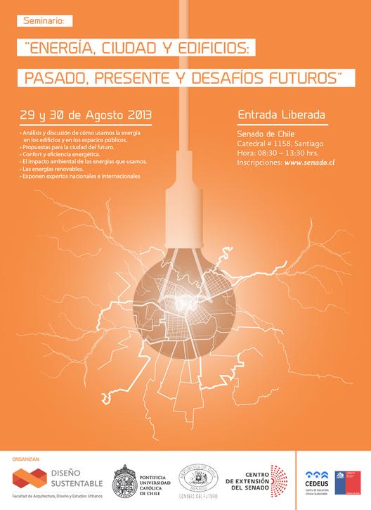 """Seminario """"Energía, Ciudad y Edificios: Pasado, presente y desafíos futuros"""""""