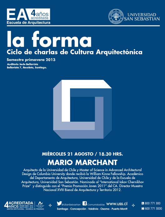 La Forma: Ciclo de Charlas de Cultura Arquitectónica