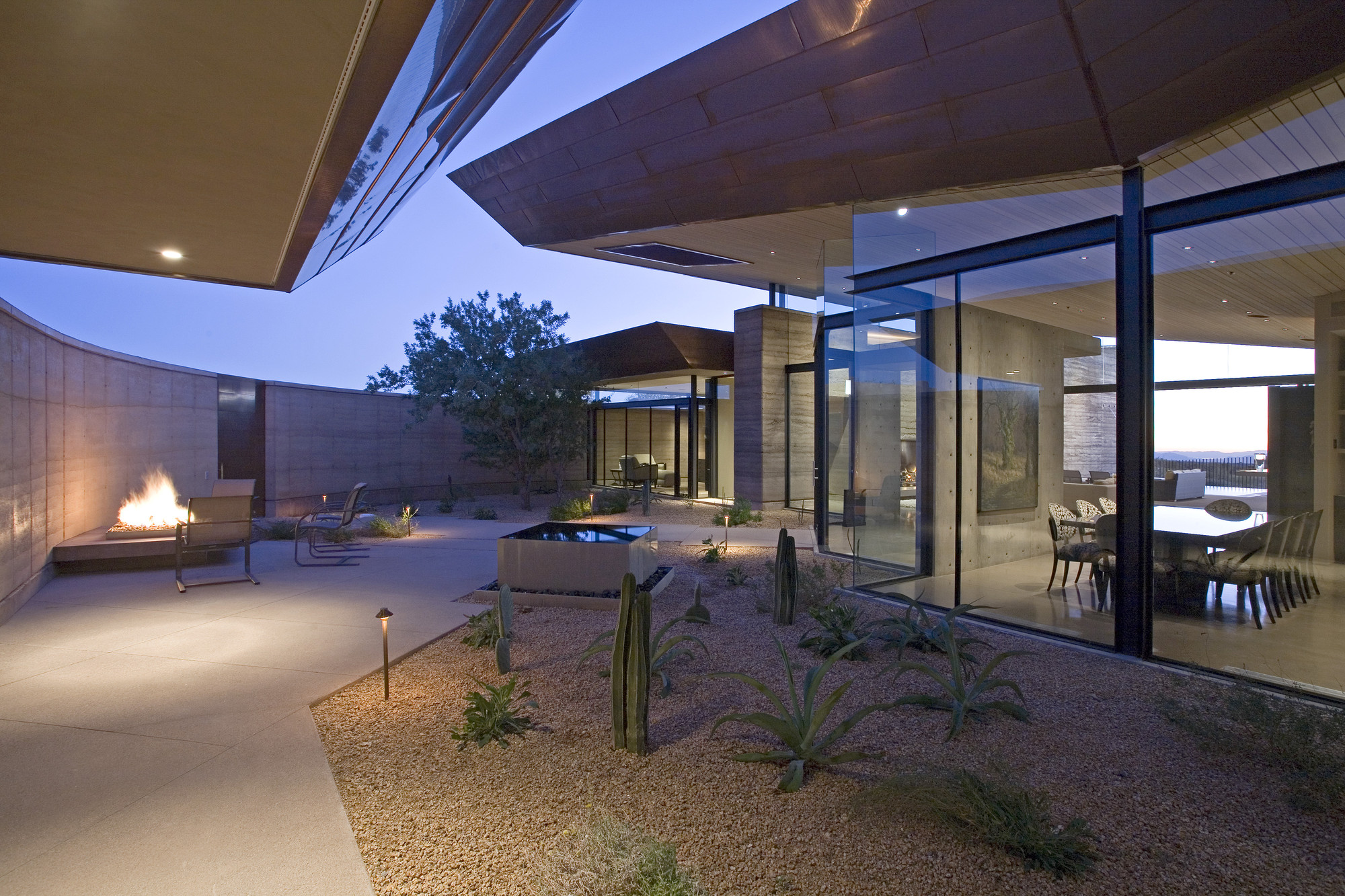 Gallery of desert wing kendle design 17 - Villa decor desert o architecture ...