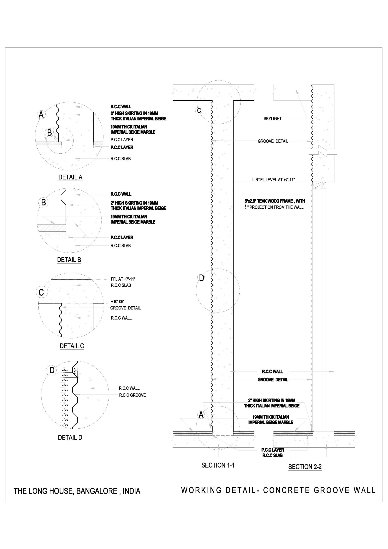 Gallery of The Long House / Khosla Associates - 23