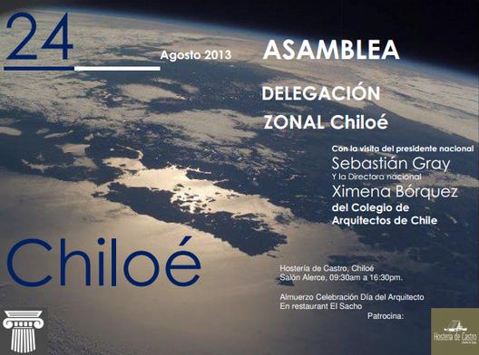 Asamblea Colegio de Arquitectos de Chile, Delegación Zonal Chiloé
