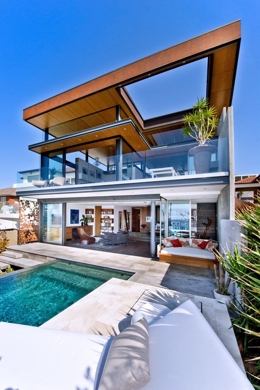 Bronte House / Rolf Ockert Design | ArchDaily