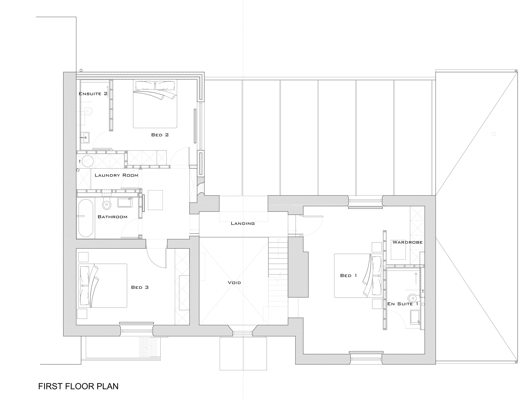 Glass house floor plan gurus floor for Glass house blueprints