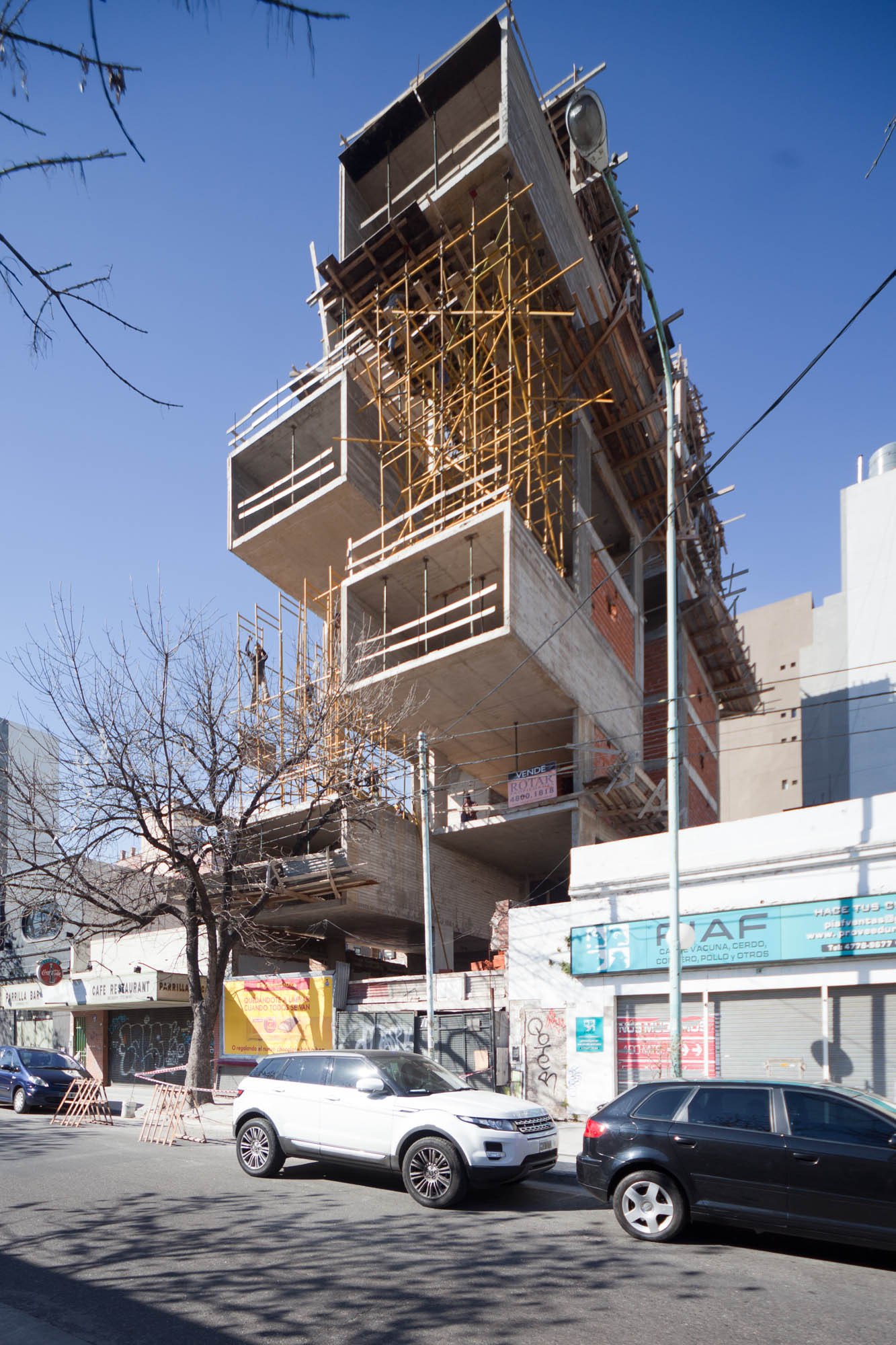 Under Construction: Dorrego 1711 Building / Dieguez Fridman