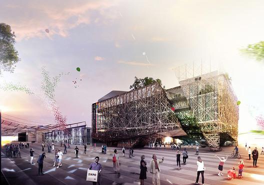 Italy's 2015 Pavilion. Image © Nemesi Studio