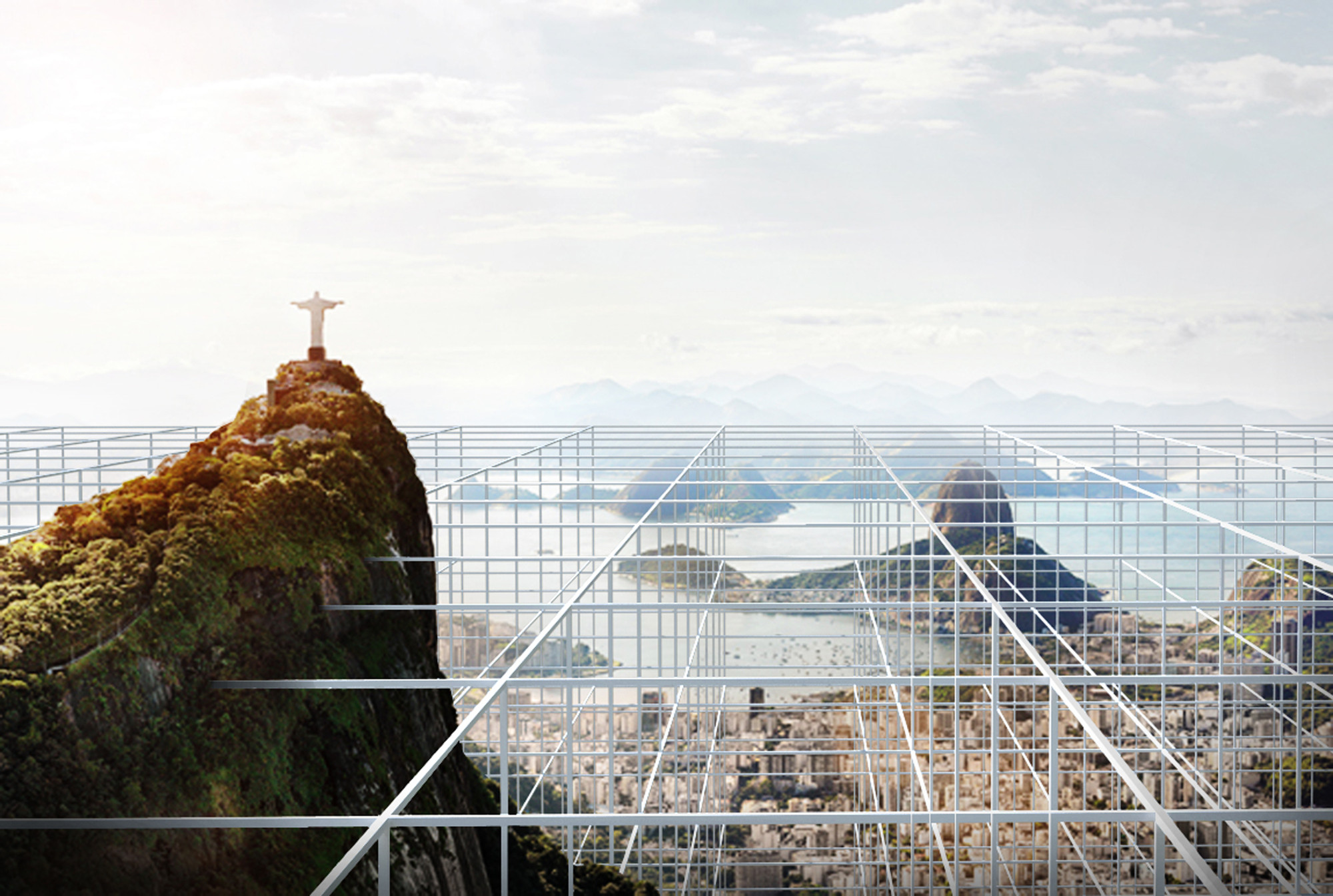 Rio de Inverso: CityVision Competition Entry / Buro AD + Spectacle, grid. Image Courtesy of Buro AD + Spectacle