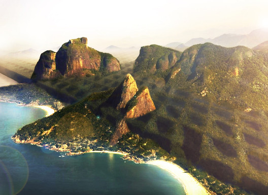 overgrown Rio. Image Courtesy of Buro AD + Spectacle