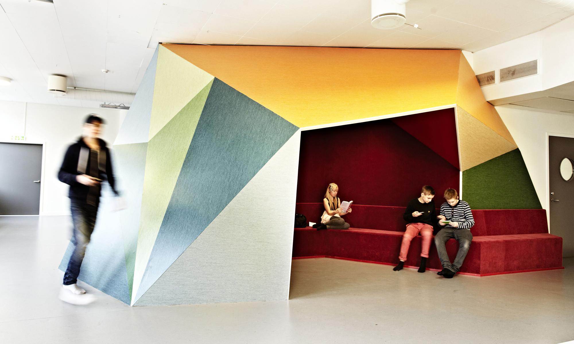 Vittra School Södermalm / Rosan Bosch, © Kim Wendt