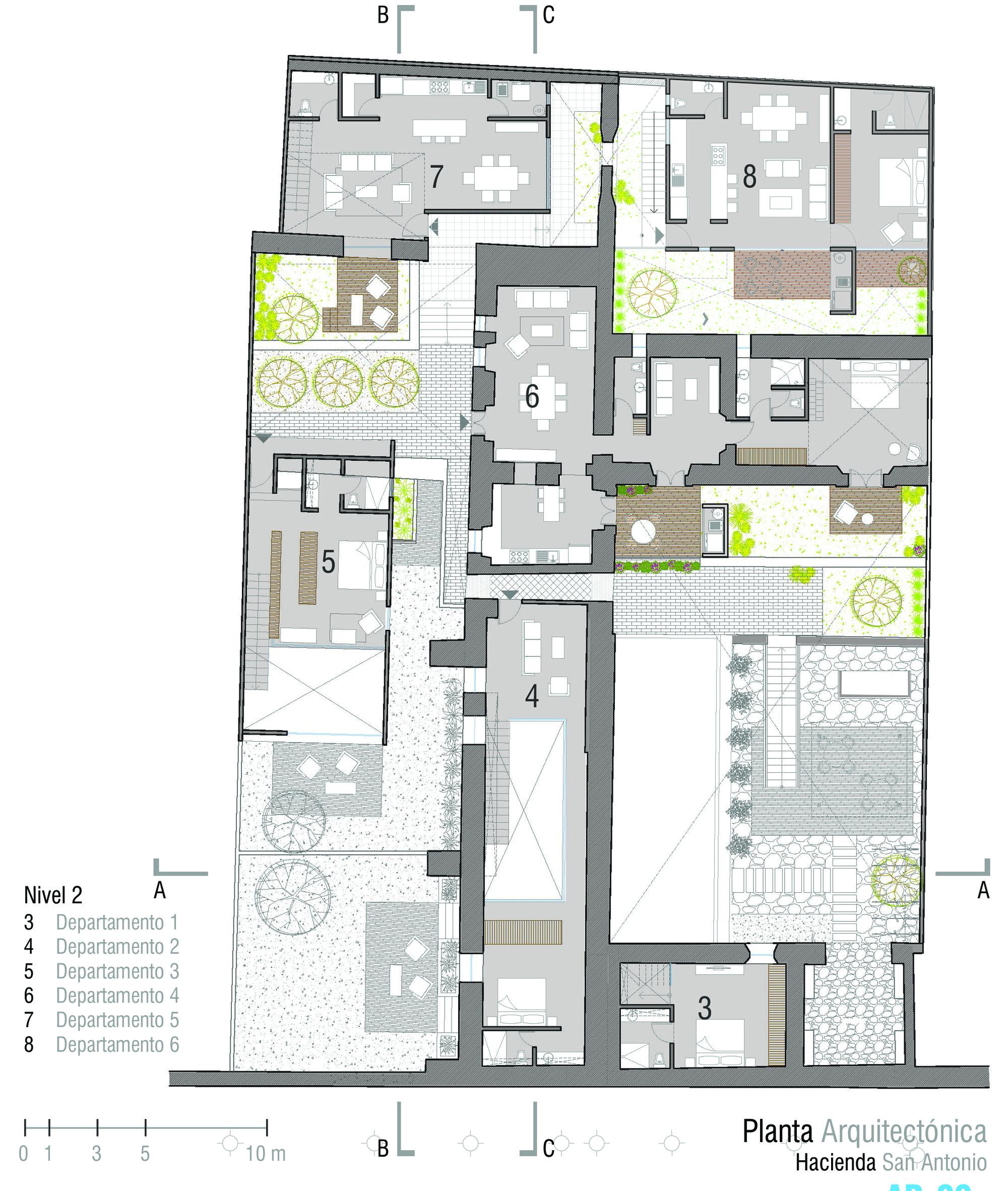 Galeria Arquitectonica: Galeria De Hacienda San Antonio / Dionne Arquitectos