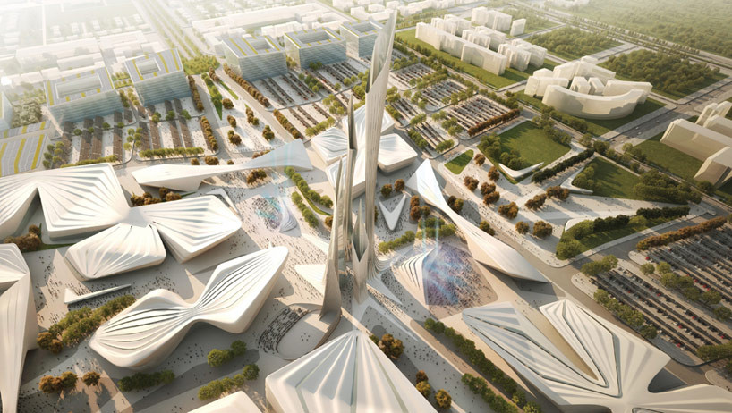Gallery of top firms compete to design kazakhstan 39 s world for Top architecture firms 2017