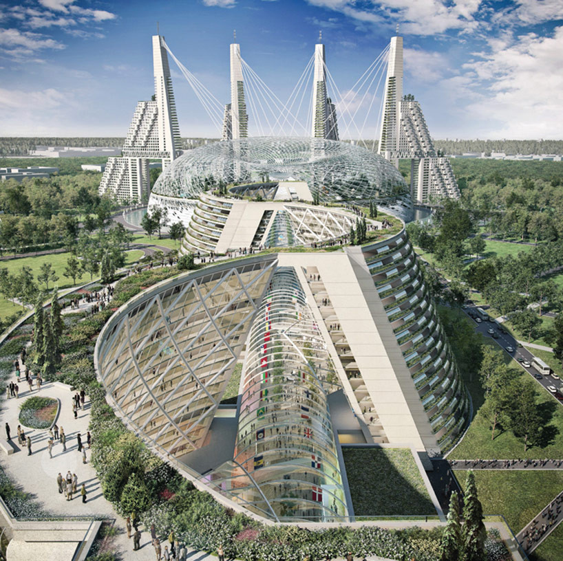 Gallery of top firms compete to design kazakhstan 39 s world for Best architecture firms in the world