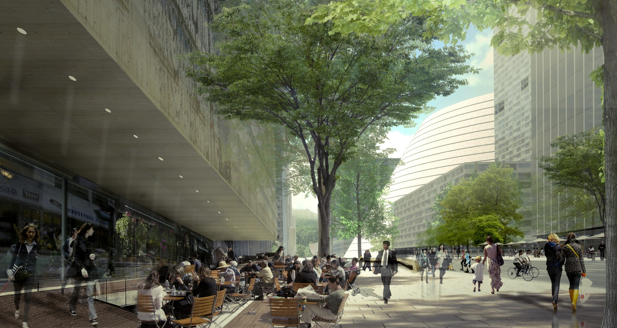 Gallery of OMA Selected to Masterplan New Civic Center in ...