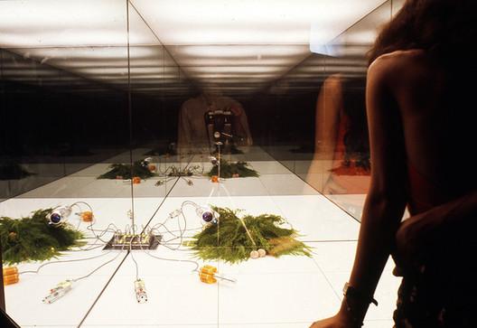 © Superstudio, Microevent/Microenvironment, 1972. Photograph by Cristiano Toraldo di Francia, courtesy of Emilio Ambasz.