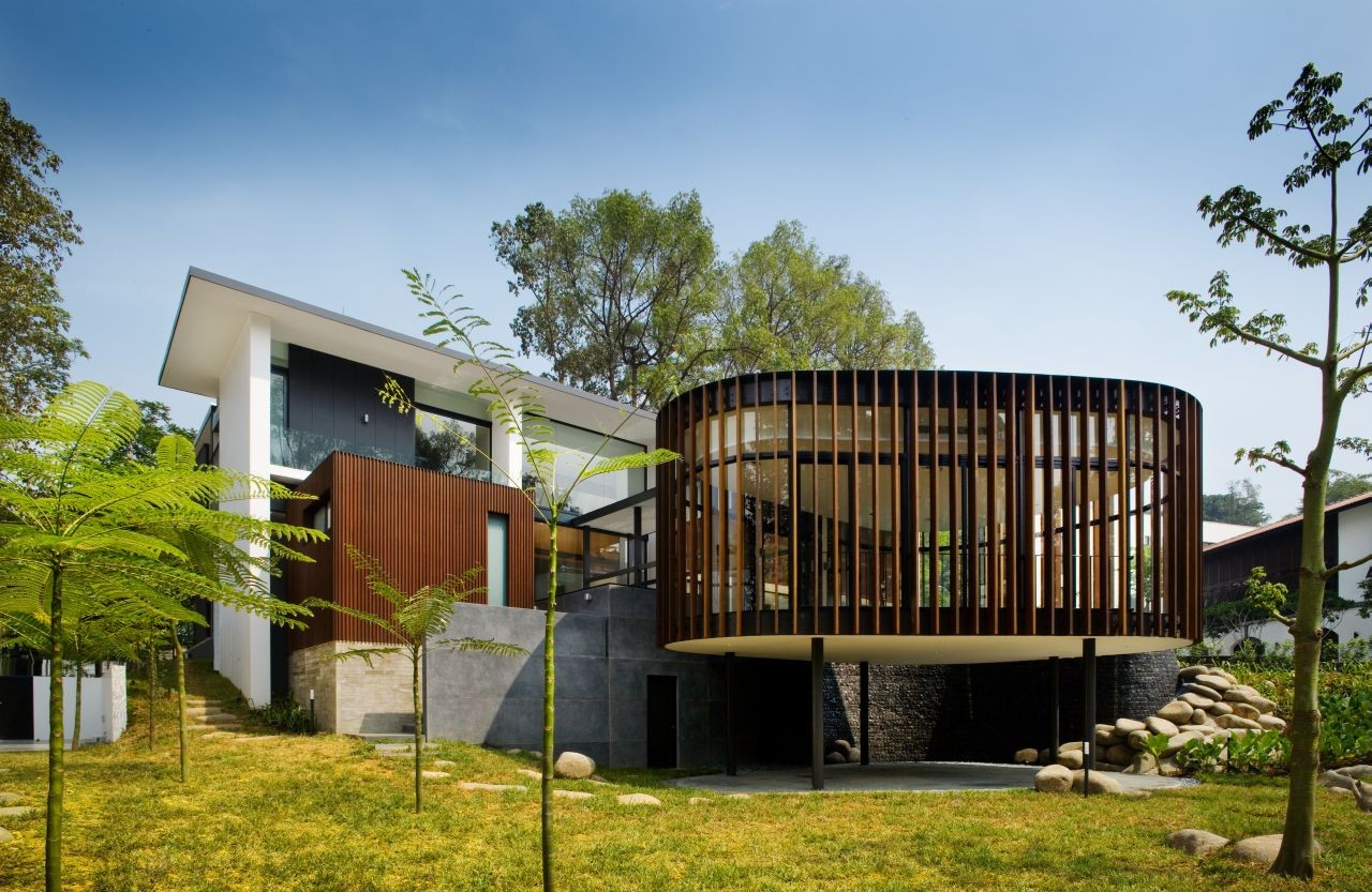 Gallery Of Screen House K2ld Architects 1
