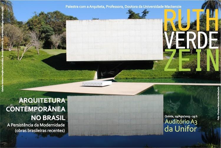 Palestra com Ruth Verde Zein em Fortaleza